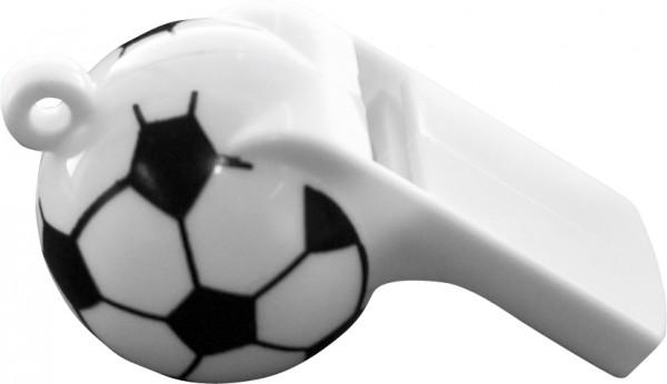 Trillerpfeifen 19,5 cm, Plastik «Football »