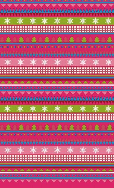 Tischdecke Papier, pink, 138x220cm
