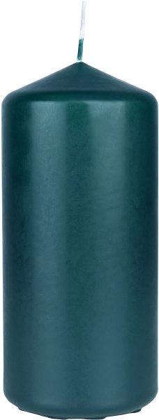 Stumpenkerze, petrol, 15 x ø 7cm, ca. 62 Std.