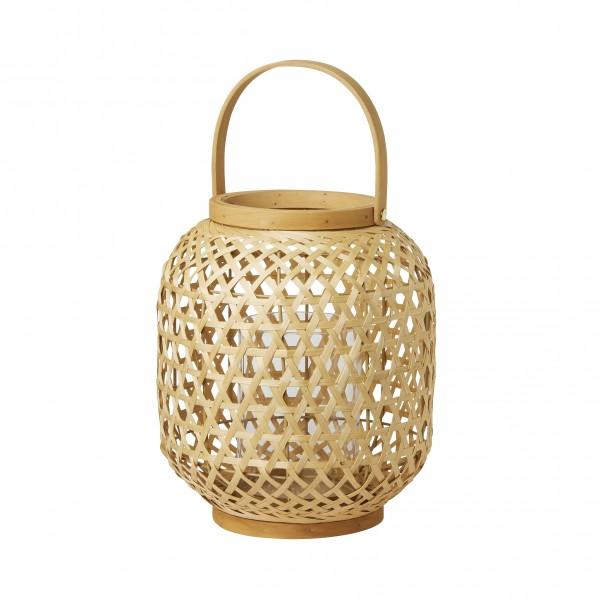 Kerzenhalter Natur, Bambus, braun, 255 x 240 mm