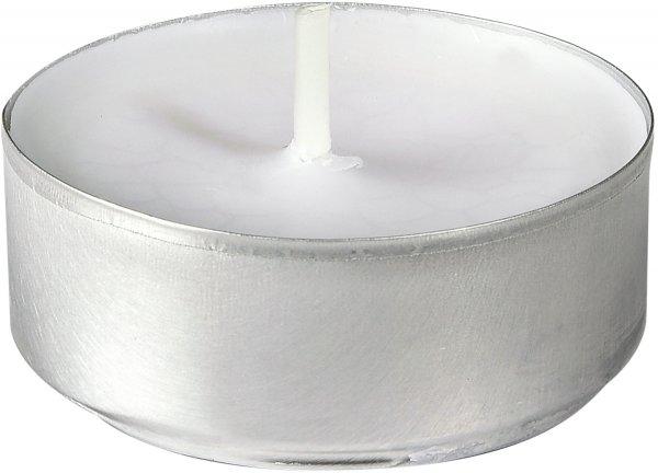 Teelichter, Weiss, ø 39 mm, ca. 4 Stunden