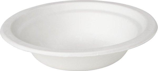 Bio tiefe Teller, Bagasse, ø 18 cm