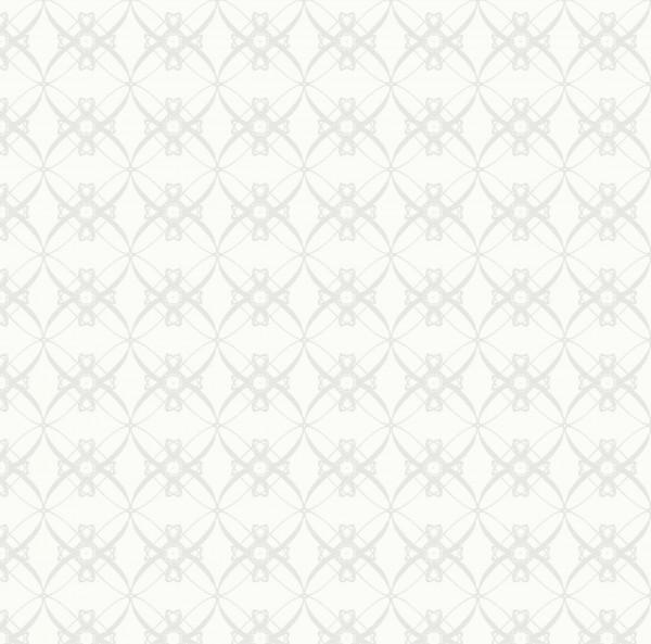 Papierservietten, Weiss, Grau, 40 x 40 cm