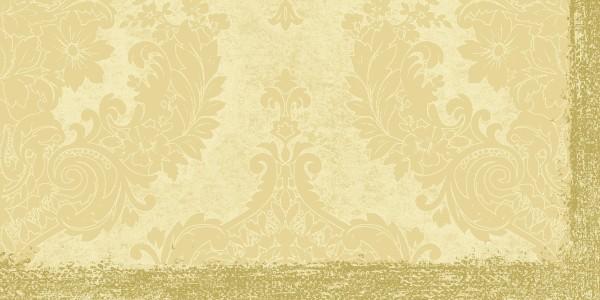 Mitteldecke Papier, creme, 84x84 cm