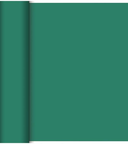Tête-à-Tête, Tischläufer,uni dunkelgrün, 0.40x24 m