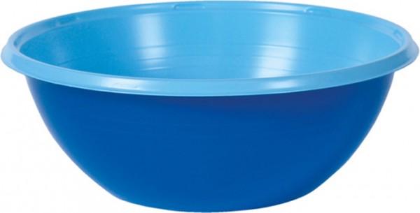 Einwegschale Plastik, blau, 38cl
