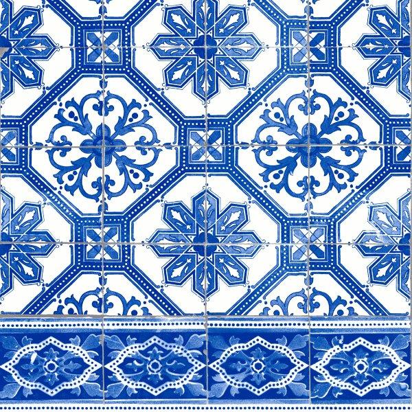 Papierservietten, blau, 33 x 33 cm