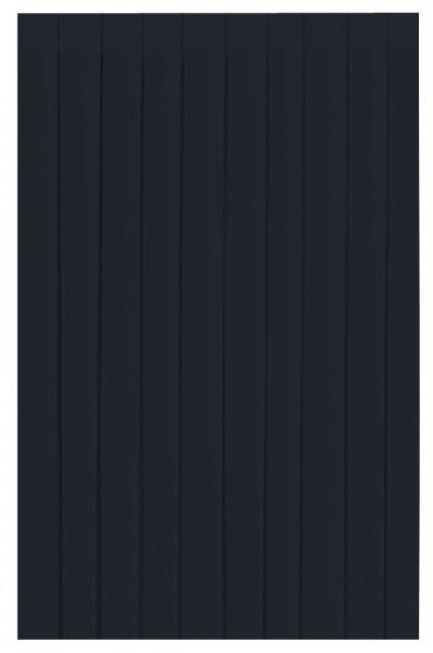 Skirting und Tischschürze Papier, schwarz, 0.72x4 m