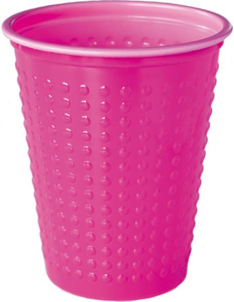 Plastikbecher Colorix, pink, 20cl