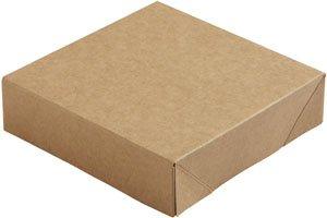 """Karton/PE Deckel, Braun, """"Viking Cube"""""""