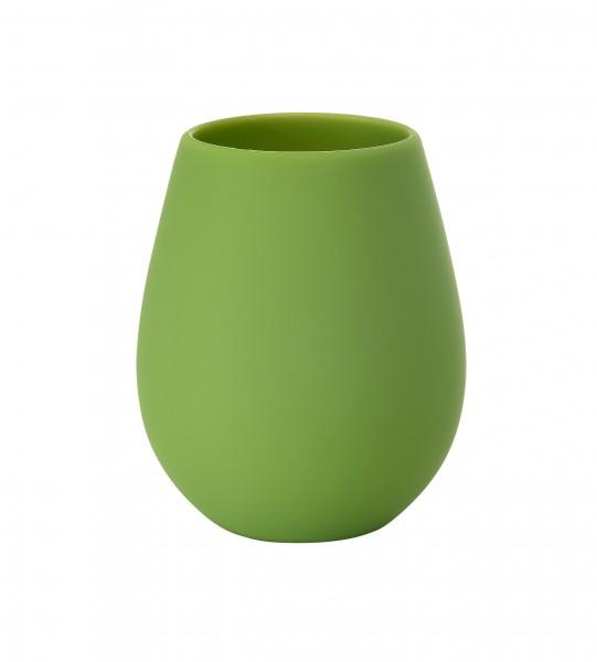 Kerzenhalter Tropical aus Silikon, grün