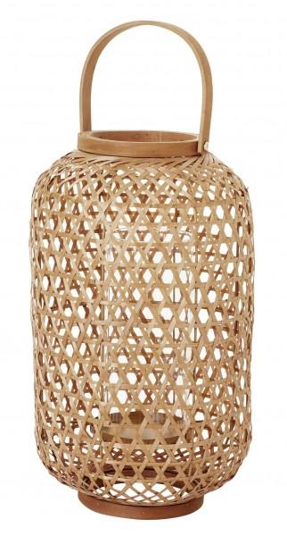 Kerzenhalter Natur, Bambus, braun, 400 x 230 mm