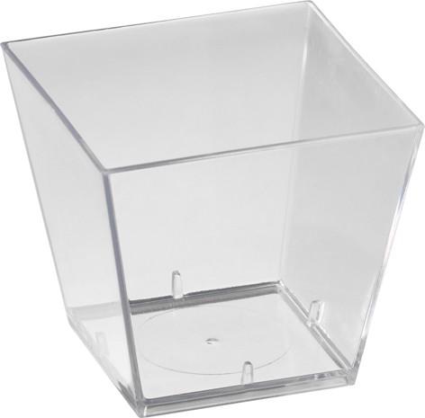Fingerfood schalen klein, transparent, 60ml