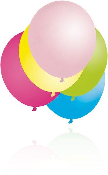 Luftballons, farbig, sortiert
