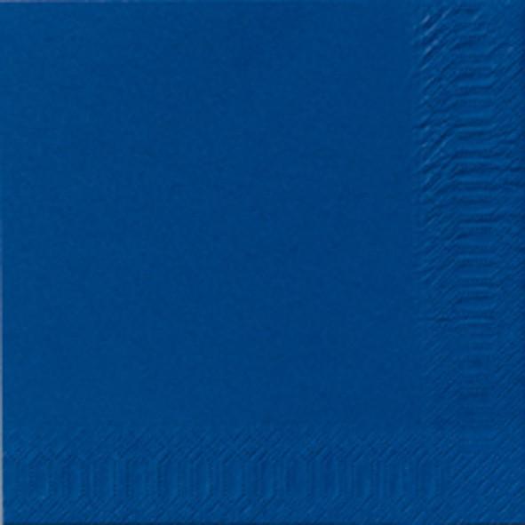 Papierservietten, blau, 24 x 24 cm