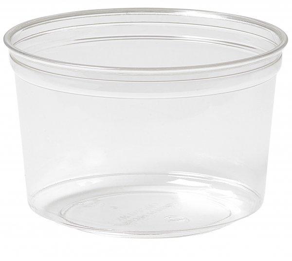 "rPET Deli-Schale, transparent, 5 dl, ""Crystal ecoecho"""