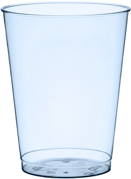 Plastikbecher, blau, 25cl