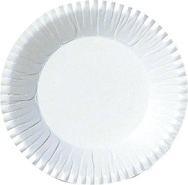 Pappteller, Weiss, ø 9 cm