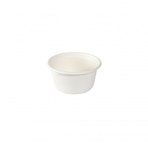 """Bagasse Dressingbecher, Weiss, 0,6 dl, """"Eco"""""""