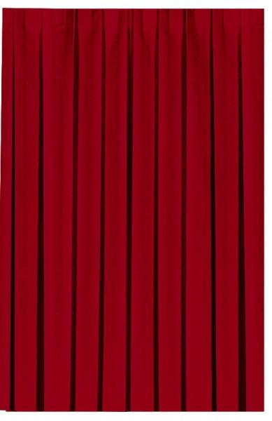 Skirting und Tischschürze Papier, rot, 0.72x4 m