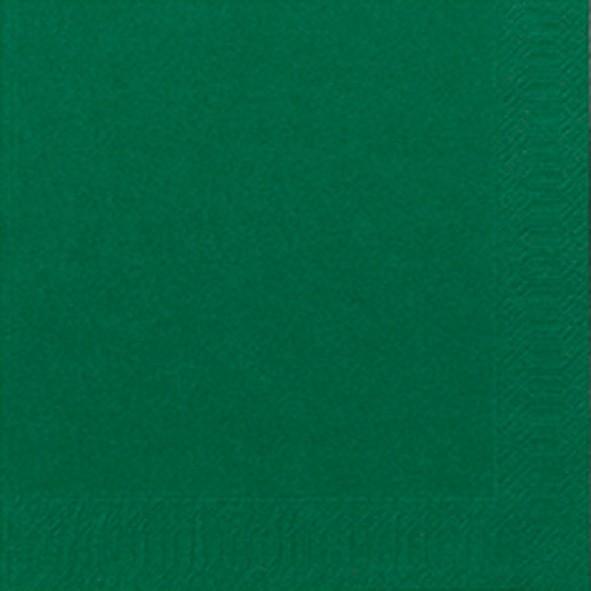 Papierservietten, grün, dunkelgrün, 24 x 24 cm