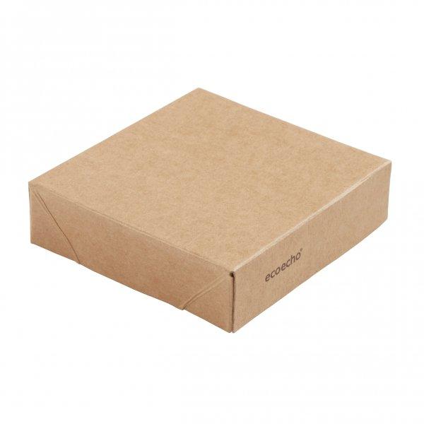 "Karton/PLA Deckel, Braun, ""Viking ecoecho Cube"""