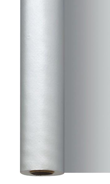 Tischtuchrolle, silber, 1.18x25 m
