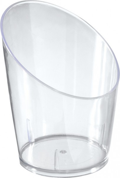 Fingerfood Schalen, transparent, 6er Set