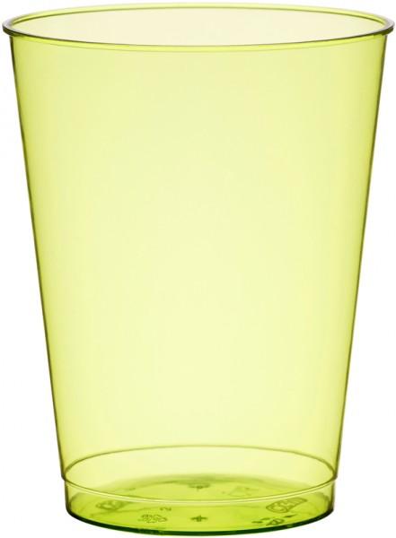 Plastikbecher, grün, 25cl