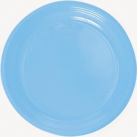 Teller ø 22 cm, Plastik «Light Blue»