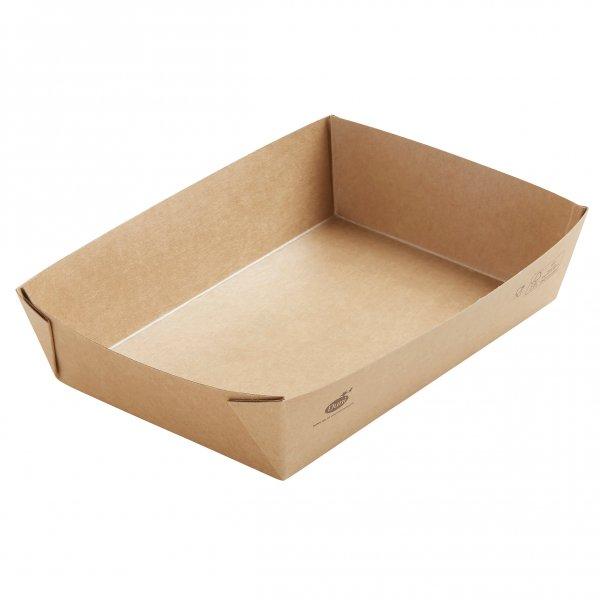 "Karton/PLA Box, Braun, 11 dl, ""Viking ecoecho Brick"""