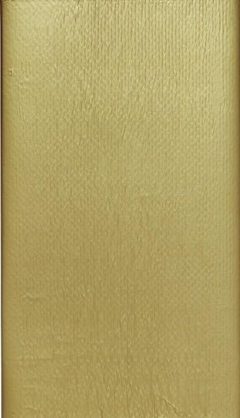 Tischdecke Papier, gold, 118 x 180 cm