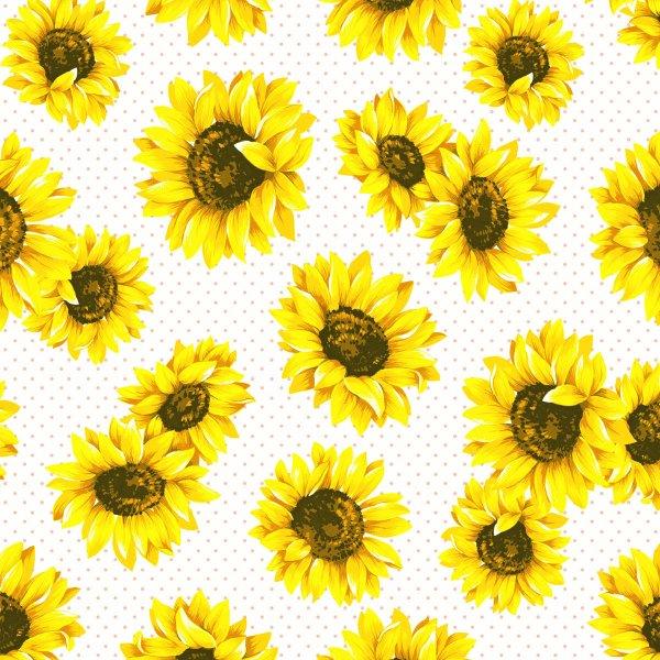 Papierservietten, Gelb, 24 x 24 cm, Sunflower Garden