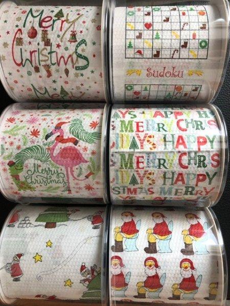 Duni Toilettenpapier Weihnachten, 6 Rollen
