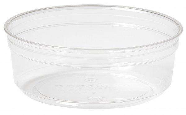 "rPET Deli-Schale, transparent, 2,5 dl, ""Crystal ecoecho"""