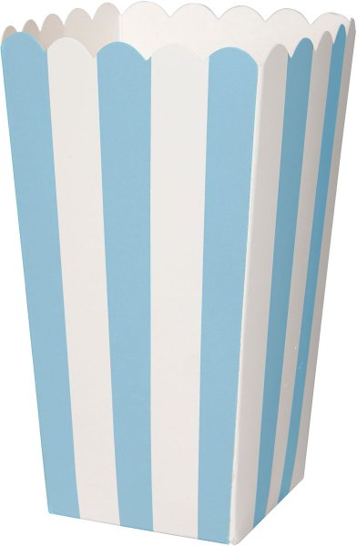 Popcornschachtel, blau