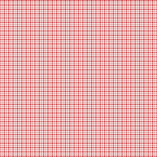 Tischdecke kariert, abwaschbar, rot, weiss, 120x120 cm