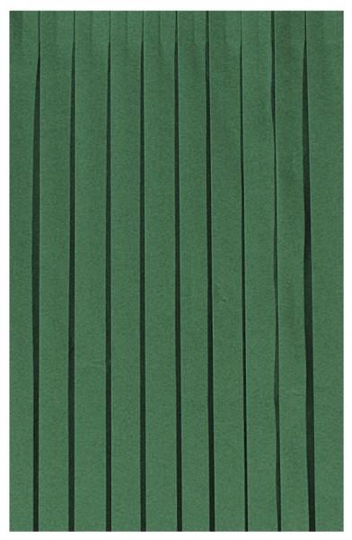 Skirting und Tischschürze Papier, dunkelgrün, 0.72x4 m