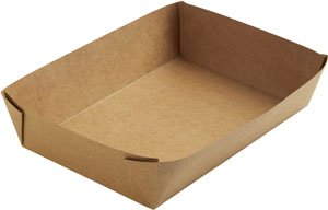"Karton/PE Box, Braun, 11 dl, ""Viking Brick"""