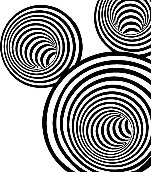 Papierservietten, schwarz, weiss, 33 x 33 cm