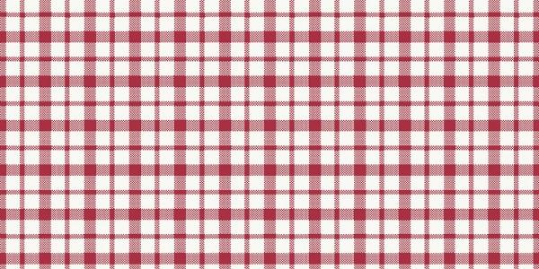 Mitteldecke Papier, kariert, rot, weiss, 84x84 cm