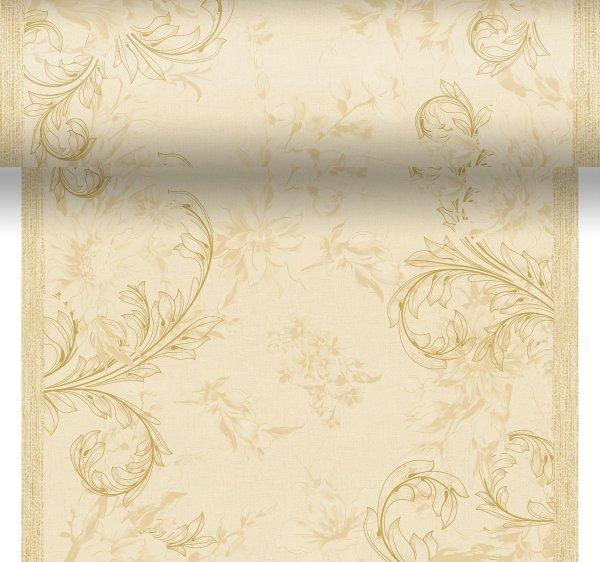 Tischset, Tischläufer, Tête-à-Tête Papier, crème, 40 x 480 cm