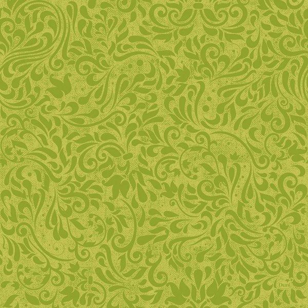 Papierservietten, grün, 40x40cm