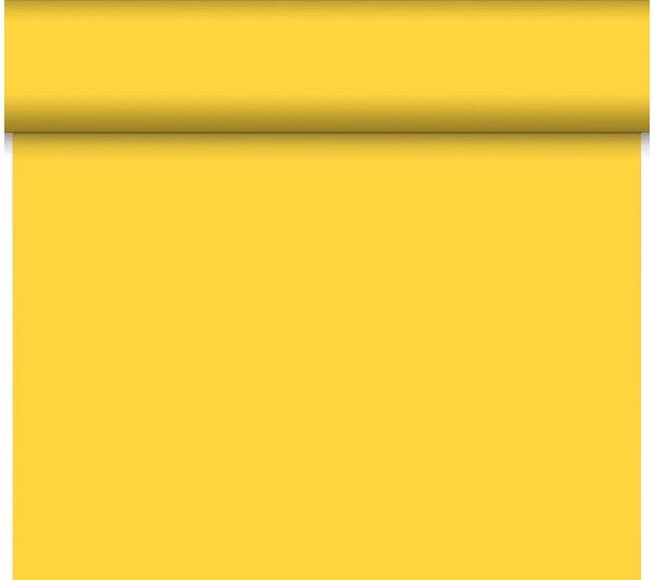 Tischläufer, Tête-à-Tête einfarbig, gelb, 0.40x24 m