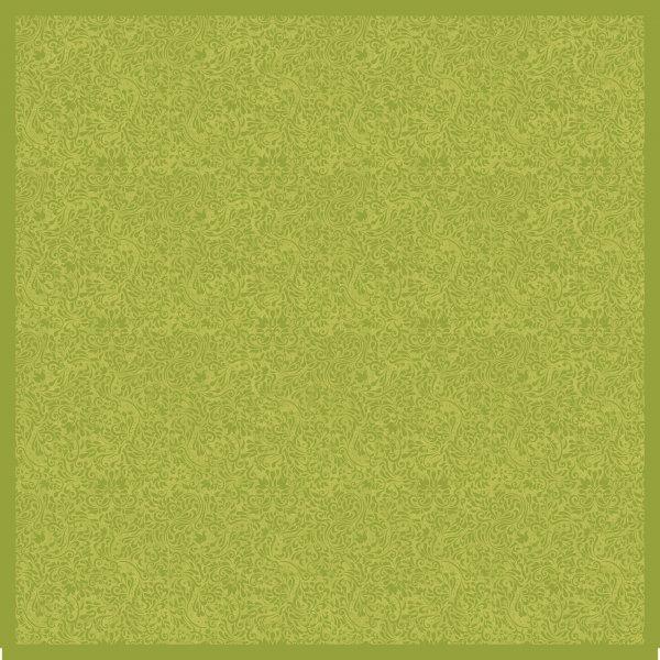 Mitteldecke Papier, grün, 84 x 84 cm