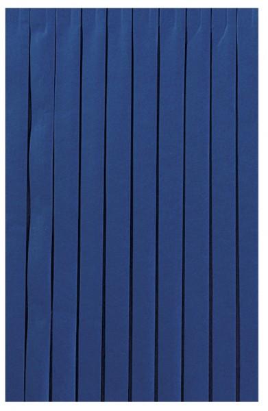 Skirting und Tischschürze Papier, dunkelblau, 0.72x4 m