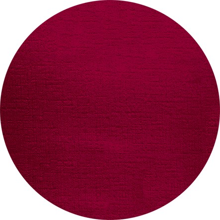 Tischdecken rund, wasserabweisend, dunkelrot, Ø2.4 m