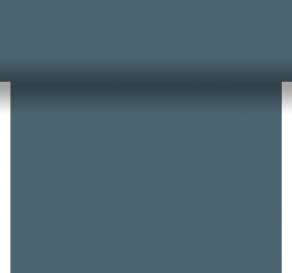 Tischset, Tischläufer, Tête-à-Tête Papier, blau, 40x480cm
