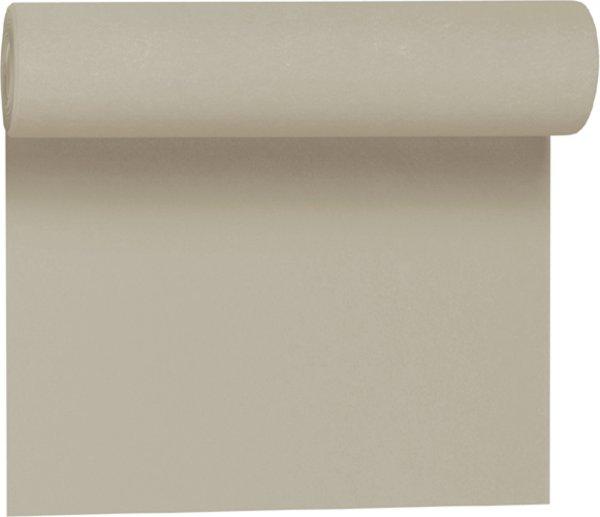 Tischset, Tischläufer, Tête-à-Tête Papier, greige, 40x480cm