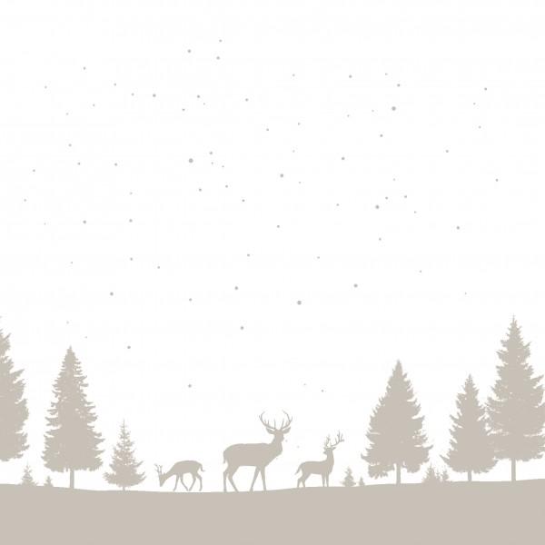 Papierservietten, Winterland, 33x33cm